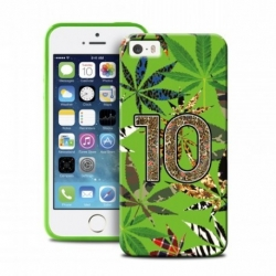 COVER VERDE FOGLIE - IPHONE 5