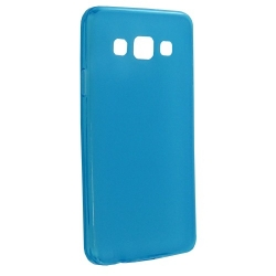 "COVER ""GEL"" SILICONE col. light blue - SAMSUNG A3"