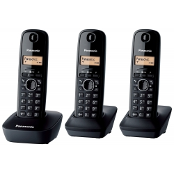 PANASONIC KX-TG1613JT trio - black