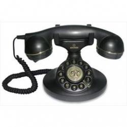 Telefono fisso - BRONDI Vintage nero