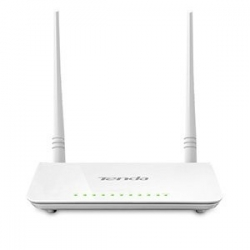 Tenda D301 Modem Router Wireless N, 300 Mbps, ADSL2+, 4 Porte Fast Ethernet,IPsec VPN, IPTV, WPS