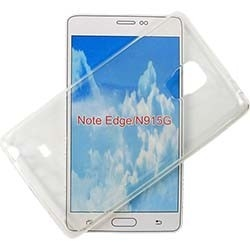 CUSTODIA IN SILICONE PER SAMSUNG NOTE EDGE