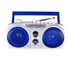 New Majestic RR-917 Analogico 0.75W Blu, Bianco radio CD