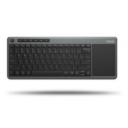 Rapoo K2600 Tastiera Wireless Multimedia con Touchpad - ideale per Smart TV