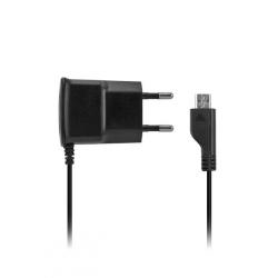 CARICA DA RETE SLIM 2.1A MICRO-USB - BLACK
