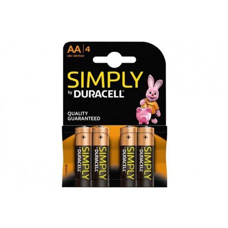 Batterie ministili AAA DURACELL - 4PZ