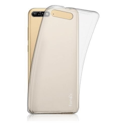 COVER SILICONE TRASPARENTE - HUAWEI Y6 2018