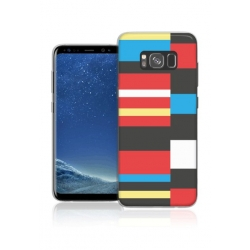 Cover in silicone con 4 skin - Samsung S8 PLUS