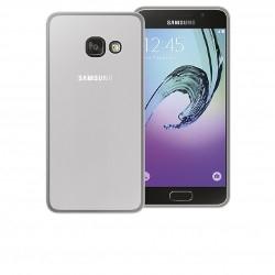 Cover in silicone trasparente + pellicola salvaschermo - Samsung A3 2017