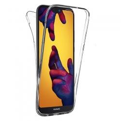 Cover fronte retro silicone trasparente - P20 Lite