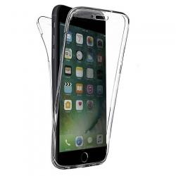 Cover fronte retro silicone trasparente - IPhone 7-8