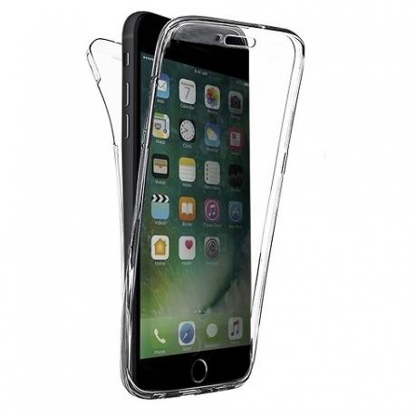 Cover fronte retro silicone trasparente - S8 Plus