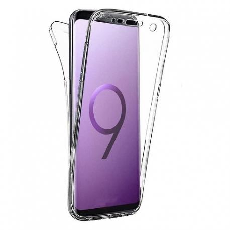 Cover fronte retro silicone trasparente - IPhone X-XS
