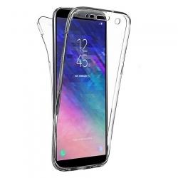 Cover fronte retro silicone trasparente - J6 2018