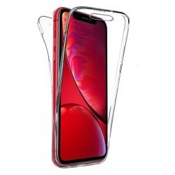 Cover fronte retro silicone trasparente - A6 2018
