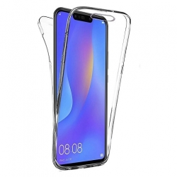 Cover fronte retro silicone trasparente - IPhone XR