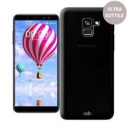 Cover in silicone nera CDR - Samsung A8 2018