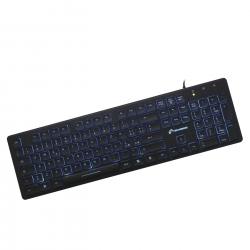 Tastiera USB retroilluminata - TECHMADE PKL-301