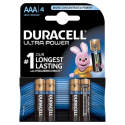 MINISTILO AAA DURACELL PLUS POWER - 4 PZ