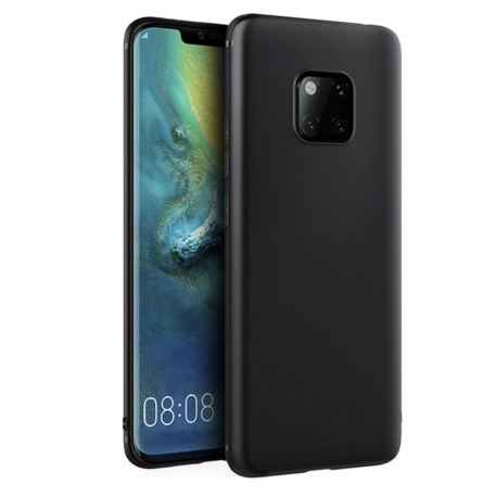 Cover in silicone soft nera - HUAWEI MATE 20 PRO