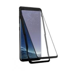 Vetro Temperato Curvo nero - Samsung NOTE 8