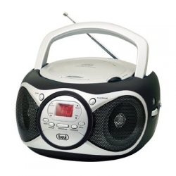 Radio CD Digitale 6W Nero e argento - Trevi