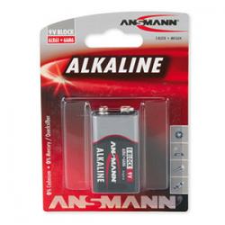 PILE ALKALINE 9V - ANSMANN
