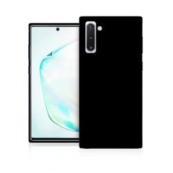 Cover in silicone nera - Samsung Note 10