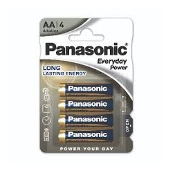 Pile stilo alkaline , Long lasting energy - Panasonic