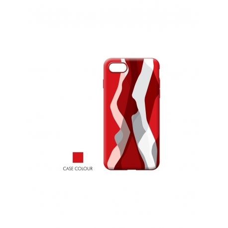 Cover Colour Explosion red , Samsung A9 - Rovi