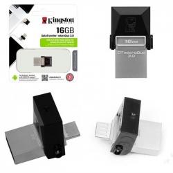 PENDRIVE USB 3.0   2 IN 1 MICRO USB OTG - 16 GB
