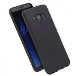 Cover soft touch nera  - Samsung A71