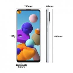 Samsung A21s  2020, Ram 3  gb, Rom 32 Gb - black TIM