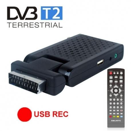 RICEVITORE DIGITALE DVB T2 - Majestic Dec 663