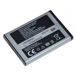 BATTERIA SAMSUNG C3060-C3200-C3310-C3510 - F400 - L700 - S3370 - S3650 - S5260 - S5500 - S5600 - S5560 - S5620  - S7220 - ZV60