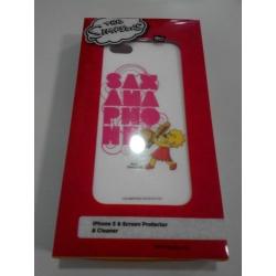 COVER IPHONE 5, 5s, 5se - LISA SIMPSON con PELLICOLA