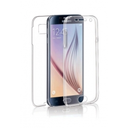 """Cover Full Silicone """"SPECTER""""  S6 - trasp"""