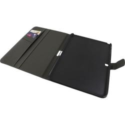 CUSTODIA CHIUSA in simil-pelle nera - Samsung TAB 4   7