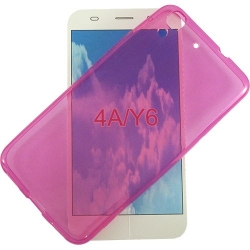 COVER SILICONE FUCSIA - HUAWEI Y6
