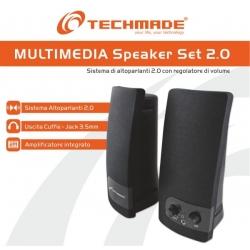 CASSE STEREO SPEAKER SET 2.0 -