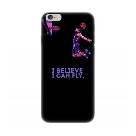 Cover morbida SAMSUNG S8 - I BELIEVE I CAN FLY