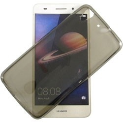 COVER IN SILICONE COL. GRIGIO - HUAWEI Y6 2