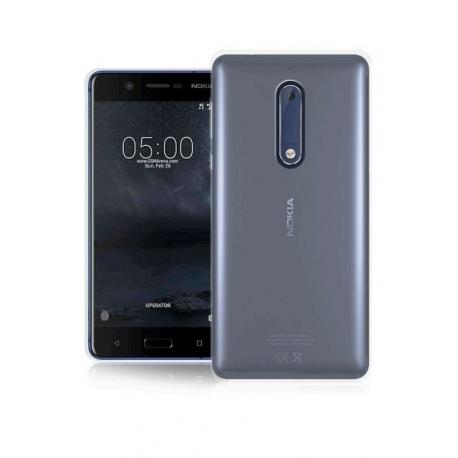 Soft Case Ultra Sottile 0,2 Mm Per Nokia 5 - Colore Trasparente
