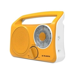 New Majestic RT-189 Portatile Analogico Giallo radio