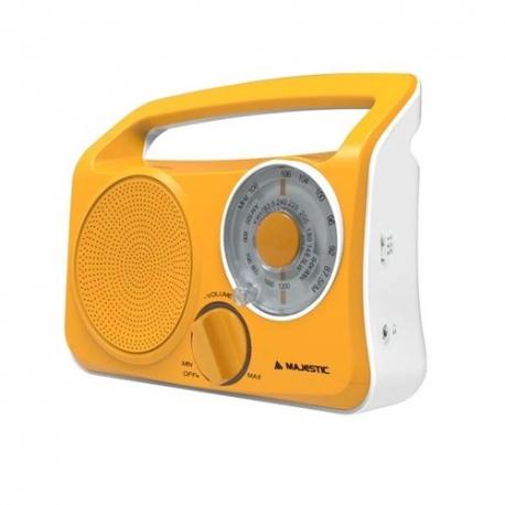 New Majestic RT-189 Portatile Analogico Giallo radio