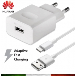 HUAWEI CARICA BATTERIE QUICK CHARGER - CAVO TYPE C
