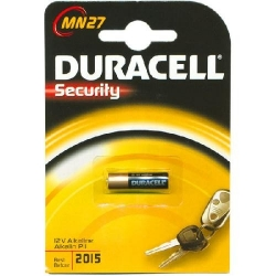 PILA BOTTONE MN27 - DURACELL SECURITY