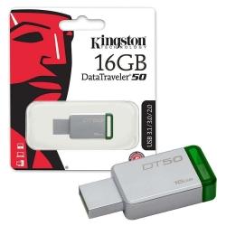 Pendrive Kingston 16 GB  3.1 - DATA TRAVEL 50