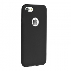 COVER IN SILICONE NERA - IPHONE 5
