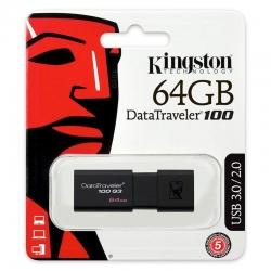 PENDRIVE 64 GB 3.0 - KINGSTON DT100
